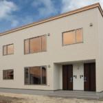 プライバシー重視の完全分離型の二世帯住宅 岩見沢市